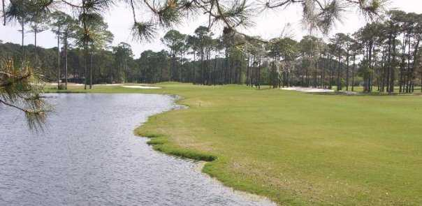 A view of the 9th hole at Jekyll Island Golf Course - Indian Mound Course