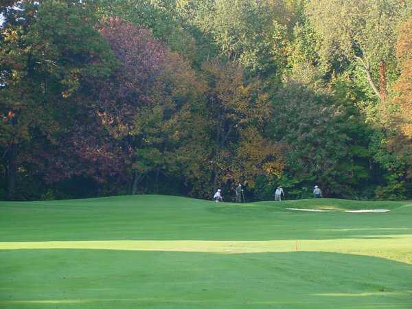 A view from fairway #14 at Mayfair Country Club