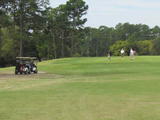 A view from Refuge Golf Club at Gulf State Park
