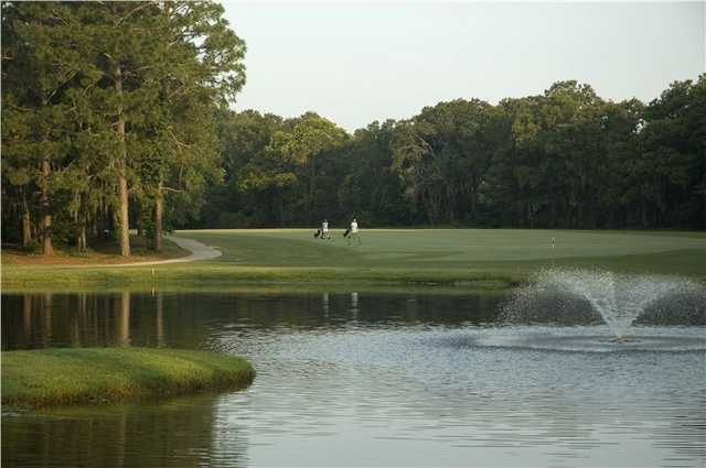 A view from Little Ocmulgee At Wallace Adams Course