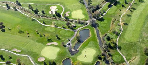 Aerial view from Boone Creek Golf Club