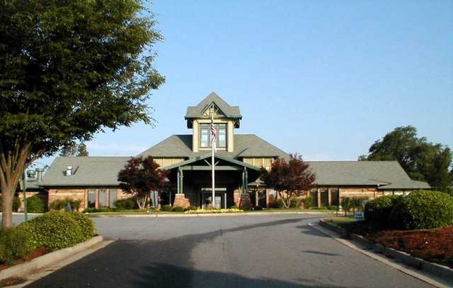 A view of the clubhouse at Monroe Golf & Country Club