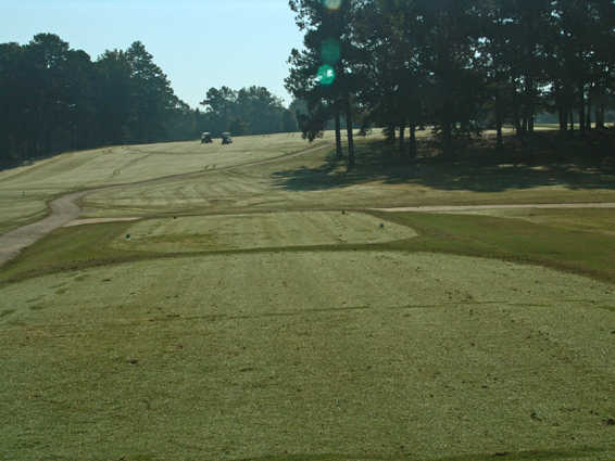 A view of green #4 at Monroe Golf & Country Club
