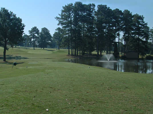 A view of the 8th hole at Monroe Golf & Country Club