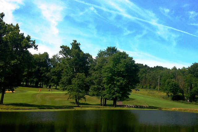 A view over the water from Tanglewood Club
