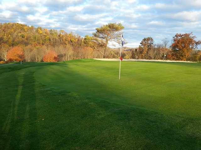A view of a hole at East Palestine Country Club