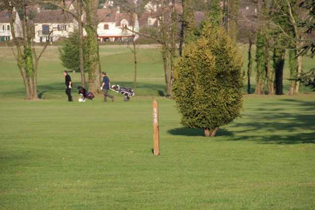 A sunny day view from Cergy Pontoise Golf Club