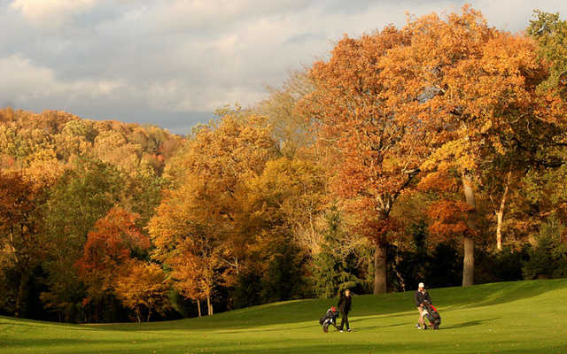 A fall view from Coudray Golf Club