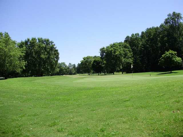A view of a green at Cedar Rock Country Club