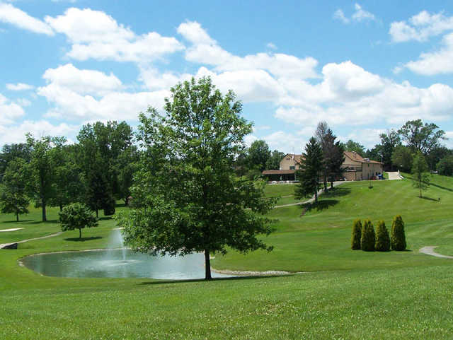 A sunny day view from Moose Golf Course