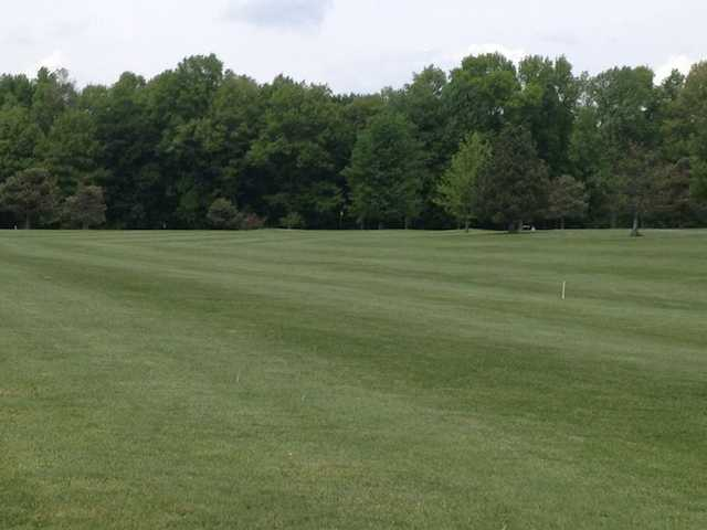 A view of fairway #4 at Meadow from North Branch Golf Course