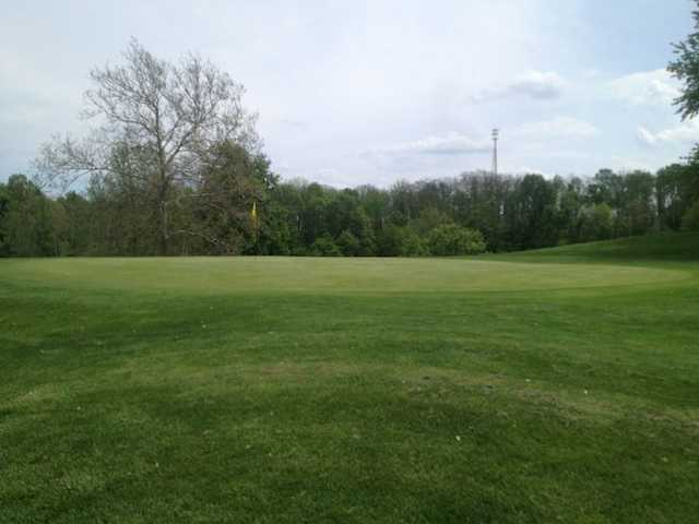 A view of hole #3 at Bridge from North Branch Golf Course