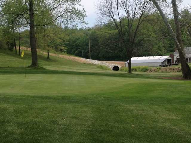 A view of the 4th hole at Bridge from North Branch Golf Course