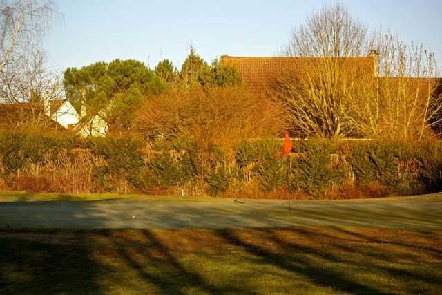 A view of a hole at Gadancourt Golf Club