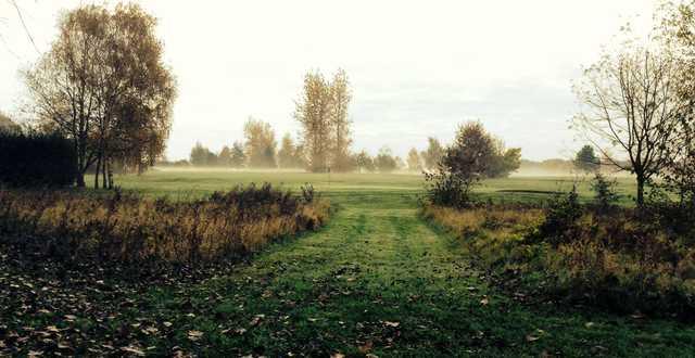 A view of a green at Gadancourt Golf Club