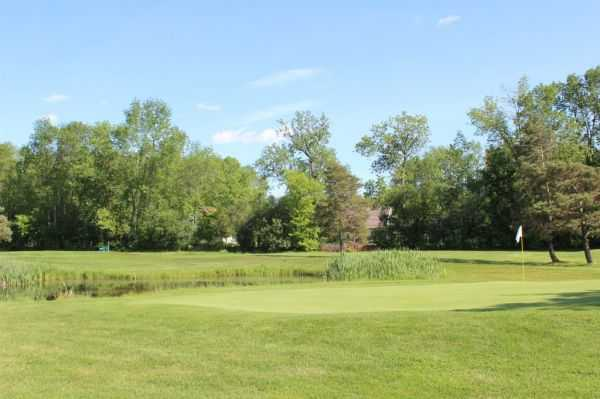 A view of a hole at Liftlock Golf Club