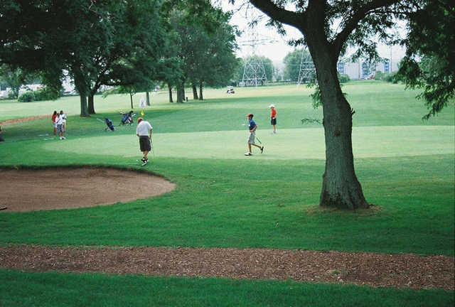 A view from Salt Creek Golf Club