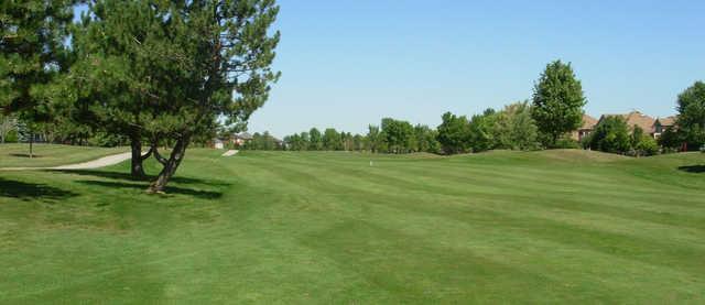 A view of a fairway at Millcroft Golf Club.