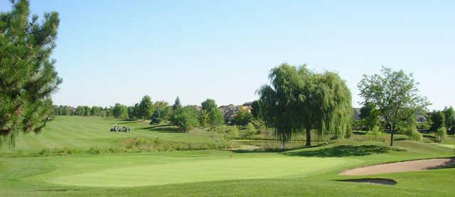 A view of a hole at Millcroft Golf Club.