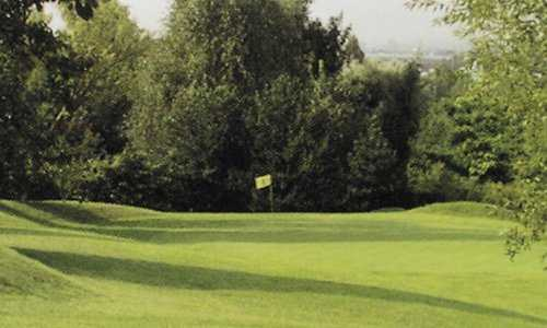 A view of a green at Rosny sous Bois Golf Course