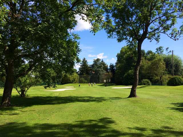 View from no. 7 at Saint Ouen l'Aumone Golf Club