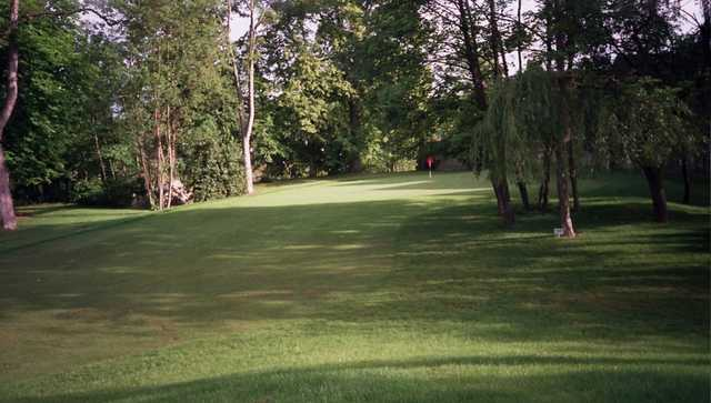 A view from fairway #8 at Saint Ouen l'Aumone Golf Club