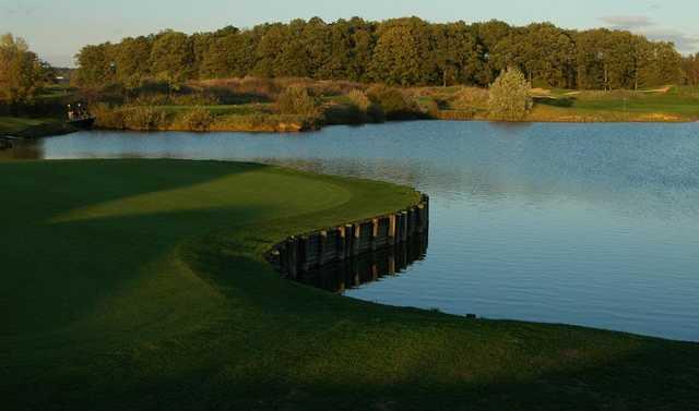 A view from Stade Francais Courson Golf Club