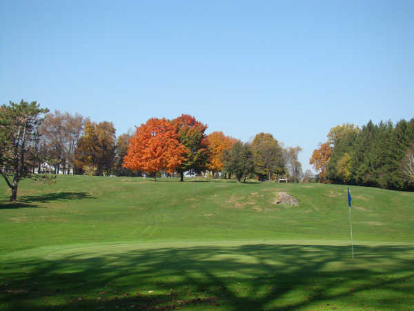 A view of a hole at Blue from Arrowhead Golf Course