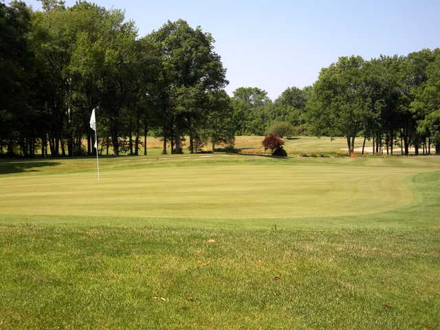 A view of the 17th hole at Crawfordsville Golf Course.