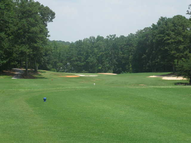 A view of the 1st green at Fairfield Plantation Golf & Country Club