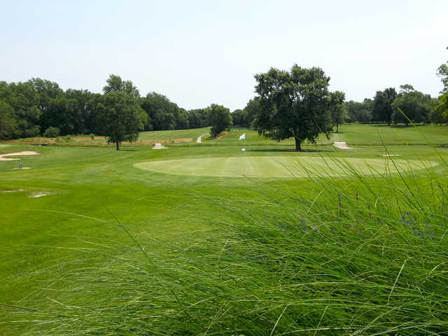 A view of hole #12 at Crawfordsville Golf Course.