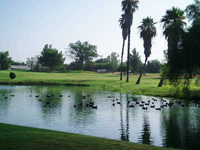 A view of the 6th fairway at California Golf & Art Country Club