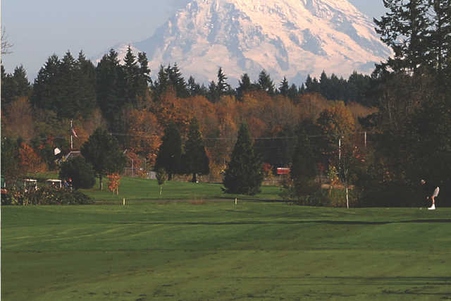 A view from Tumwater Valley Golf Club