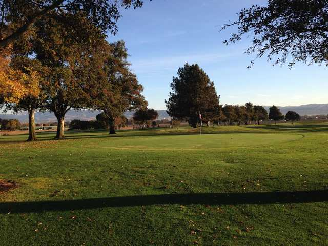 A view of a hole at Gavilan Golf Course