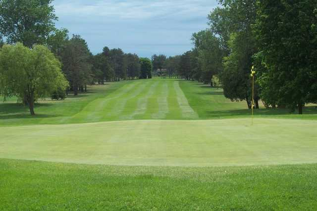 A view of a green at Escanaba Country Club