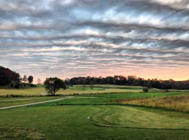 A view from a tee at Callahan Golf Links