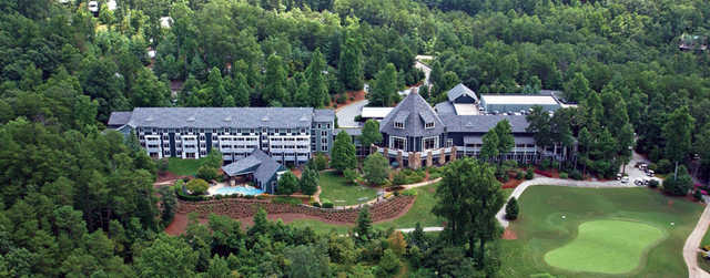 Aerial view from Brasstown Valley Resort