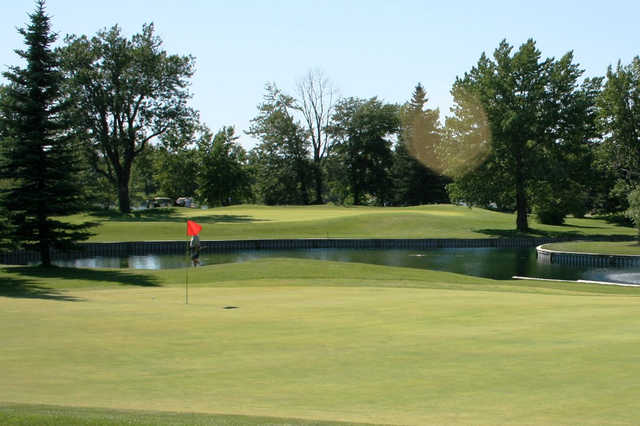 A view of a hole at Inglewood Golf and Curling Club
