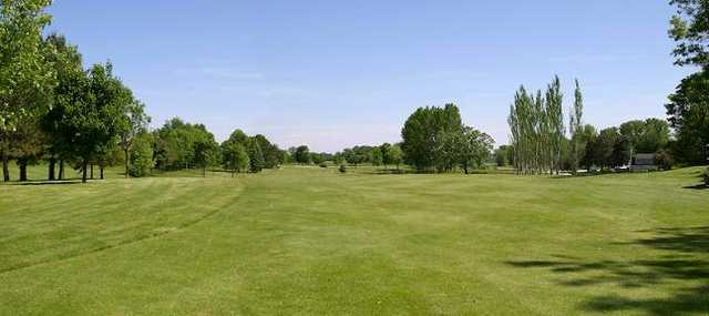 A view from the 2nd fairway at Beaver Dam Country Club