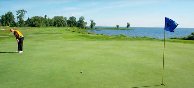 A view of a hole at Club de Golf Atlantide