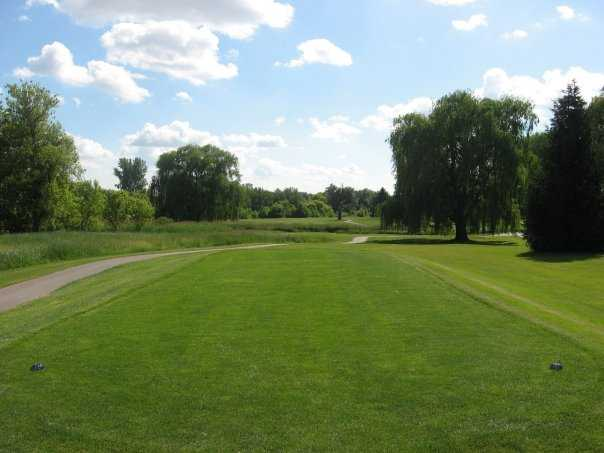 A view from tee at White from Coachman's Golf Resort.