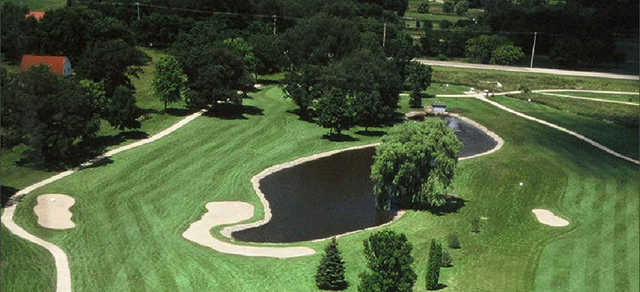 Aerial view from Coachman's Golf Resort.