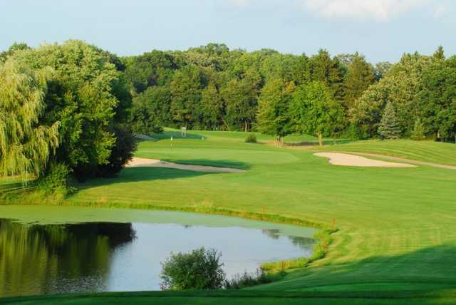 A view of hole #3 at Evergreen Golf Club - North Course