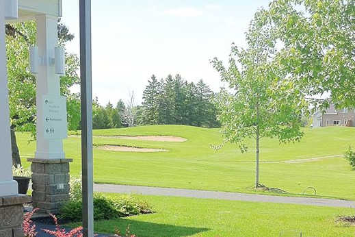 A spring view from Club de Golf La Providence