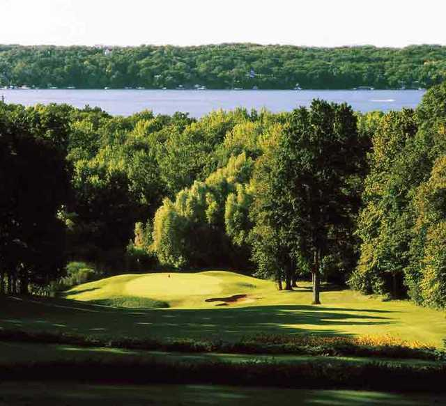 A view from Abbey Springs Golf Course