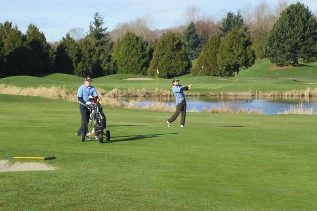 A view from Riverway Golf Course