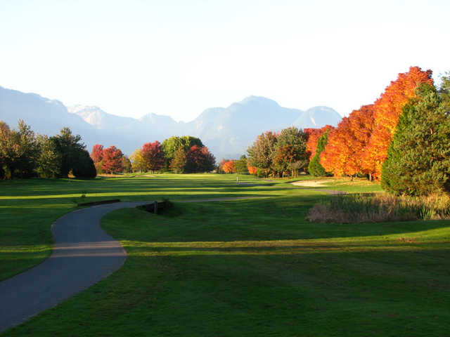 A view from Golden Eagle Golf Club