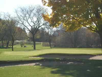 A view from Hartford Golf Club