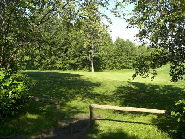 A view of a green at Raven Crest Golf and Country Club