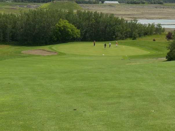 A view from a fairway at Raven Crest Golf and Country Club